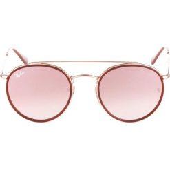 RayBan Okulary przeciwsłoneczne gold. Żółte okulary przeciwsłoneczne damskie lenonki Ray-Ban. Za 679,00 zł.
