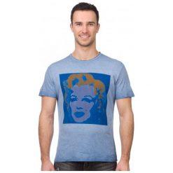 Pepe Jeans T-Shirt Męski Portrait Xl Niebieski. Niebieskie t-shirty męskie marki Oakley, na lato, z bawełny, eleganckie. W wyprzedaży za 129,00 zł.