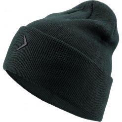 Czapka męska CAM603 - ciemna zieleń - Outhorn. Zielone czapki zimowe męskie Outhorn. Za 29,99 zł.