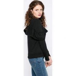 Noisy May - Bluza. Szare bluzy rozpinane damskie Noisy May, l, z bawełny, bez kaptura. W wyprzedaży za 49,90 zł.