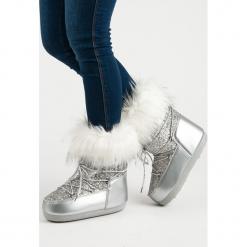 MODNE ŚNIEGOWCE. Białe buty zimowe damskie marki Merg. Za 128,00 zł.
