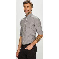 Polo Ralph Lauren - Koszula. Szare koszule męskie na spinki marki Polo Ralph Lauren, l, w kratkę, z bawełny, button down, z długim rękawem. Za 469,90 zł.