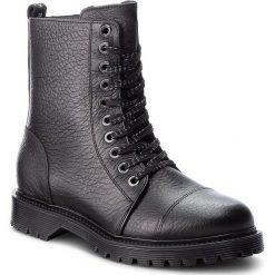 Trapery BRONX - 47008-G BX 829 Black 1. Czarne buty zimowe damskie marki Bronx, z materiału. W wyprzedaży za 419,00 zł.