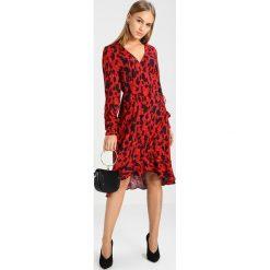 Sukienki hiszpanki: Vero Moda Petite VMSAVANNAH DRESS  Sukienka letnia sundried tomato