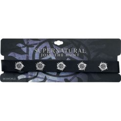 Naszyjniki damskie: Supernatural Anti Possession Naszyjnik czarny/odcienie srebrnego