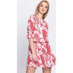 Różowa Sukienka Feel The Sun. Czerwone sukienki letnie Born2be, m. Za 84,99 zł.