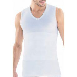 Męska koszulka wyszczuplająca BLACKSPADE Body Control. Szare podkoszulki męskie N/A, m, z bawełny. Za 60,00 zł.