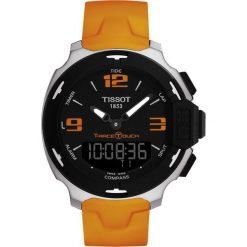 RABAT ZEGAREK TISSOT TOUCH COLLECTION T081.420.17.057.02. Czarne zegarki męskie TISSOT, szklane. W wyprzedaży za 1804,00 zł.