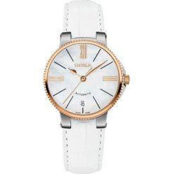 ZEGAREK DOXA II Duca Lady Automatic 130.65.052.07. Białe zegarki damskie DOXA, ze stali. Za 2800,00 zł.