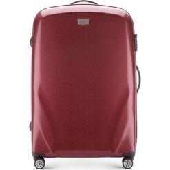 Walizka duża 56-3P-573-35. Czerwone walizki marki Wittchen, z gumy, duże. Za 389,00 zł.