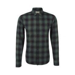 S.Oliver Koszula Męska Xl Zielony. Szare koszule męskie marki S.Oliver, l, z bawełny, z włoskim kołnierzykiem, z długim rękawem. W wyprzedaży za 110,00 zł.