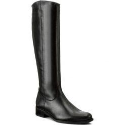 Buty zimowe damskie: Oficerki WOJAS - 7720-51 Czarny
