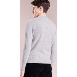 Swetry klasyczne męskie: Drumohr GIROCOLLO GARZATO Sweter grigio