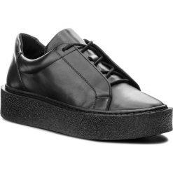 Sneakersy GINO ROSSI - DPH964-Y35-E100-9900-F 99. Czarne sneakersy damskie Gino Rossi, z materiału. W wyprzedaży za 349,00 zł.