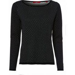 Swetry klasyczne damskie: s.Oliver Casual – Sweter damski, czarny