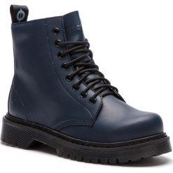 Trapery ALTERCORE - 651D Vegetarian Navy. Czarne buty zimowe damskie marki Altercore, z materiału. W wyprzedaży za 249,00 zł.