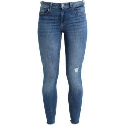 Pieces PCFIVE DELLY Jeans Skinny Fit medium blue denim. Niebieskie boyfriendy damskie Pieces. Za 199,00 zł.