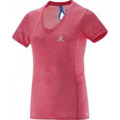 Salomon Koszulka Z Krótkim Rękawem Park Ss Tee W Lotus Pink S. Szare bluzki sportowe damskie marki Salomon, z gore-texu, na sznurówki, outdoorowe, gore-tex. W wyprzedaży za 112,00 zł.