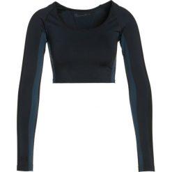 Under Armour Top black. Czarne topy sportowe damskie marki Under Armour, m, z elastanu. W wyprzedaży za 189,50 zł.