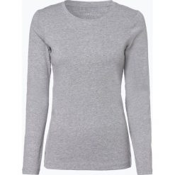 Brookshire - Damska koszulka z długim rękawem, szary. Czarne t-shirty damskie marki brookshire, m, w paski, z dżerseju. Za 69,95 zł.