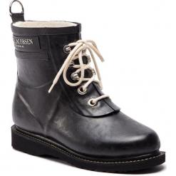 Kalosze ILSE JACOBSEN - RUB2 Black 01. Brązowe buty zimowe damskie marki Alma en Pena, z materiału, na obcasie. W wyprzedaży za 409,00 zł.