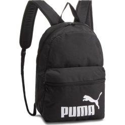 Plecak PUMA - Phase Backpack 075487 01 Puma Black. Czarne plecaki damskie Puma, z materiału, sportowe. Za 89,00 zł.