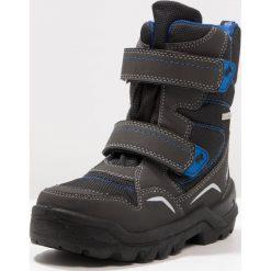 Lurchi KENNYSYMPATEX Śniegowce black/cobalt. Czarne buty zimowe chłopięce marki Lurchi, z materiału. W wyprzedaży za 179,40 zł.
