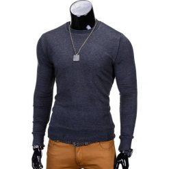 BLUZA MĘSKA BEZ KAPTURA B700 - GRAFITOWA. Czarne bluzy męskie marki Ombre Clothing, m, z bawełny, z kapturem. Za 59,00 zł.
