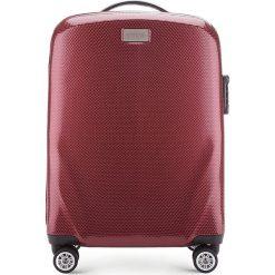 Walizka mała 56-3P-571-35. Czerwone walizki marki Wittchen, z gumy, małe. Za 329,00 zł.
