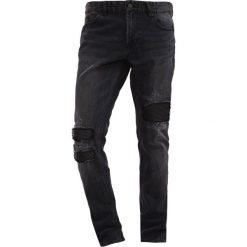 Jeansy męskie regular: Brooklyn's Own by Rocawear Jeansy Slim Fit black denim