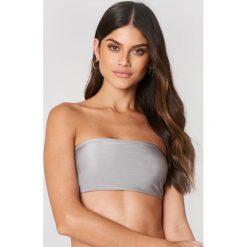 FAYT Góra od bikini Elijah - Grey. Różowe bikini marki FAYT, z haftami. Za 128,95 zł.