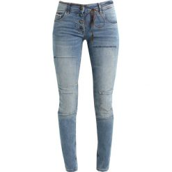 Rurki damskie: Isla Ibiza Bonita FANCY Jeansy Slim fit denim blue