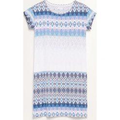 Koszula nocna - Niebieski. Niebieskie koszule nocne i halki Reserved. Za 59,99 zł.