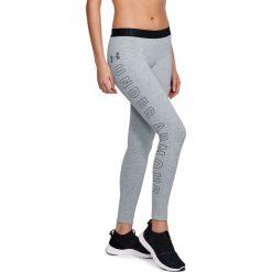 Spodnie sportowe damskie: Under Armour Spodnie damskie FAVORITE LEGGING GRAPHIC szare r. M (1320623-035)
