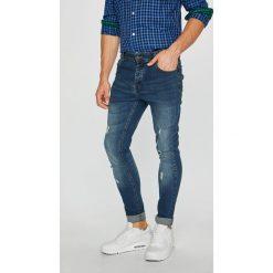 Brave Soul - Jeansy. Niebieskie jeansy męskie skinny Brave Soul, z bawełny. Za 139,90 zł.