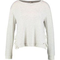 Bluzy rozpinane damskie: TOM TAILOR DENIM Bluza marble beige melange