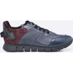 Gino Rossi - Buty Japan. Szare buty sportowe męskie marki Gino Rossi, z materiału, na sznurówki. W wyprzedaży za 329,90 zł.