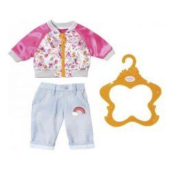 Kurtki dziewczęce przeciwdeszczowe: Baby Born Kurtka I Spodnie Różowy