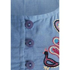 Sense Organics ZGREEN CARO GIRLS TOP SLEEVELESS Bluzka light blue. Niebieskie t-shirty chłopięce Sense Organics, z bawełny. Za 129,00 zł.