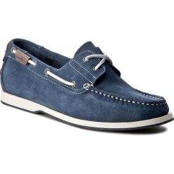 Mokasyny WRANGLER - Ocean Suede WF09102SP  Jeans 118. Niebieskie mokasyny męskie Wrangler, z jeansu. W wyprzedaży za 219,00 zł.