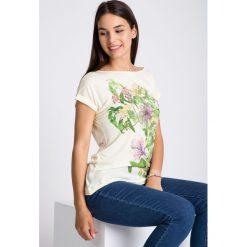 Bluzki damskie: Bluzka z kwiatowym motywem QUIOSQUE