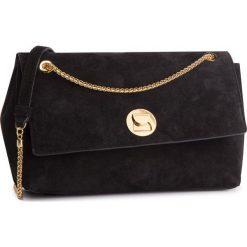 Torebka COCCINELLE - CD1 Liya Suede E1 CD1 12 02 01 Noir/Noir 001. Czarne torebki klasyczne damskie marki Coccinelle, ze skóry. W wyprzedaży za 1079,00 zł.