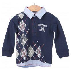 Primigi Koszulka Polo Chłopięca 74 Niebieski. Niebieskie t-shirty chłopięce Primigi. W wyprzedaży za 69,00 zł.