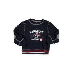 Napapijri  Boys Bluza K BOMBO blue marine - niebieski. Niebieskie bluzy niemowlęce marki Napapijri, z bawełny. Za 189,00 zł.