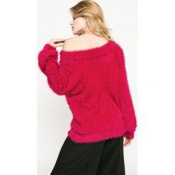 Medicine - Sweter Dark Bloom. Szare swetry klasyczne damskie marki MEDICINE, l, z dzianiny, z okrągłym kołnierzem. W wyprzedaży za 59,90 zł.
