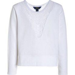 Polo Ralph Lauren Bluza white. Białe bluzy dziewczęce Polo Ralph Lauren, z bawełny. W wyprzedaży za 167,30 zł.
