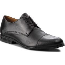 Półbuty GINO ROSSI - Chuck MPV886-Z93-0024-9900-B 99. Czarne buty wizytowe męskie Gino Rossi, z materiału. W wyprzedaży za 229,00 zł.