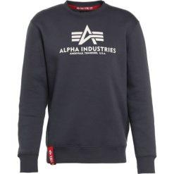 Bejsbolówki męskie: Alpha Industries BASIC SWEATER Bluza grey black