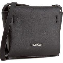 Torebka CALVIN KLEIN BLACK LABEL - Marissa Mini Crossbo K60K603649  001. Czarne listonoszki damskie marki Calvin Klein Black Label, z materiału. W wyprzedaży za 259,00 zł.