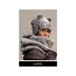 Czapka CHAPOOSIE Silver BEAR Pooh. Czarne czapki zimowe damskie Chapoosie, z bawełny. Za 125,10 zł.